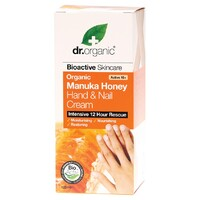 Organic Manuka Honey Hand & Nail Cream 125ml