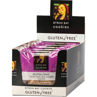 Gluten Free Cookie - Sticky Date Ginger (Box 12x60g)