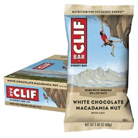 White Choc Macadamia Energy Bar (Box 12x68g)