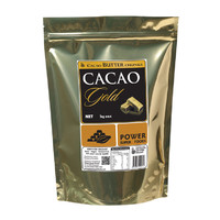 Raw Organic Cacao Butter Chunks 1kg