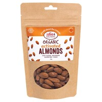 Activated Organic Almonds 120g