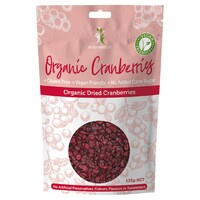 Organic Dried Super Cranberries 125g