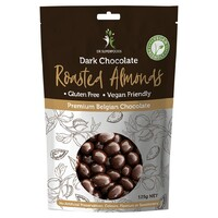 Dark Chocolate Coated Almonds 125g