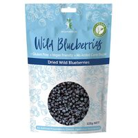 Natural Dried Wild Blueberries 125g