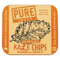 "Kale Chips - Cashew Vegan ""Cheese"" 45g"