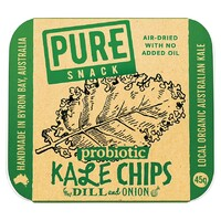 Dill & Onion Kale Chips 45g