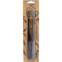 Bio Toothbrush (Black & Mist) Twin Pk