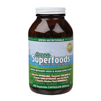 GreenSUPERFOODS VCaps (600mg) x250