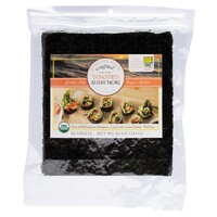 Organic Toasted Sushi Nori (50 Sheets) 125g