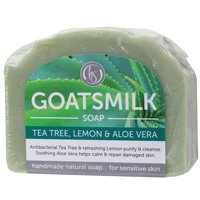 Tea Tree & Lemon Goat's Milk Soap 140g