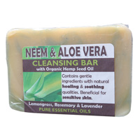 Neem Aloe Vera Cleansing Bar 140g
