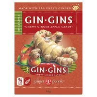 Gin Gins Spicy Apple Chewy Ginger Candy 84g