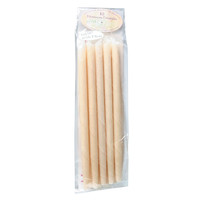 100% Unbleached Cotton Ear Candles+Filter 10 Pk