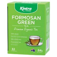 Organic Formosan Green Tea 64g