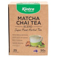 Natural Matcha Chai Tea 50g