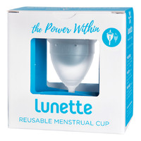 Clear Menstrual Cup (Model 1)
