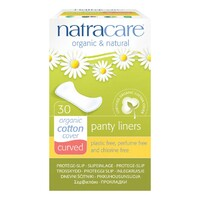 Curved Natural Panty Liners 30 Pk