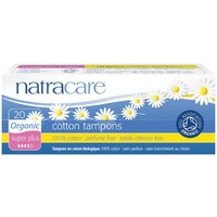 Super Plus Natural Tampons (Non-Applicator) x20