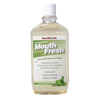 Natural Peppermint Mouthwash 473ml