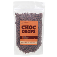 Organic Milk Chocolate Drops 500g