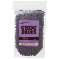 Organic Dark Chocolate Drops 500g