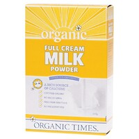 Organic Full Cream Milk Powder 350g