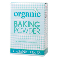 Organic Baking Powder 200g