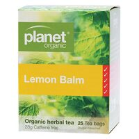 Lemon Balm Herbal Tea Bags x25