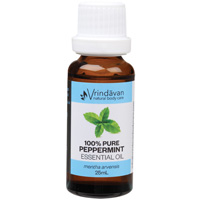 Pure Peppermint Essential Oil 25ml