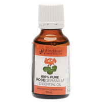 Pure Rose Geranium Essential Oil 25ml