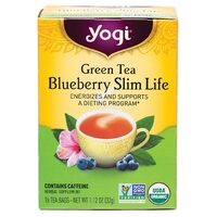 Blueberry Slim Life Herbal Tea Bags x16