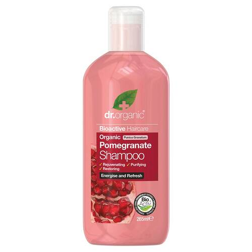 Organic Pomegranate Shampoo 265ml