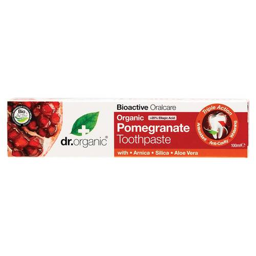 Organic Pomegranate Toothpaste 100ml