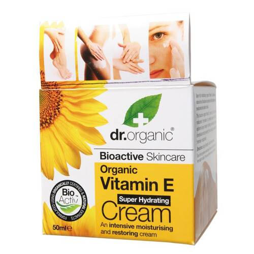 Organic Vitamin E Hydrating Cream 50ml