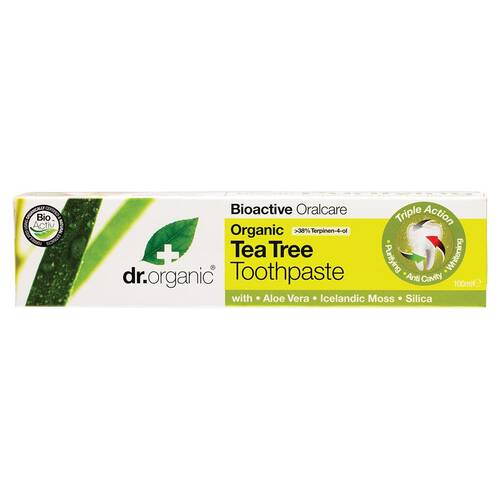 Organic Tea Tree Toothpaste (Whitening) 100ml
