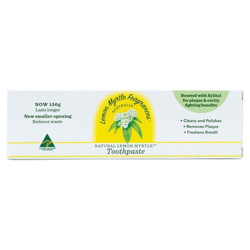 Lemon Myrtle Natural Toothpaste 110g