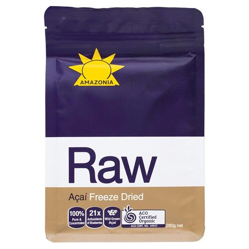 Organic Freeze Dried Acai Powder 280g