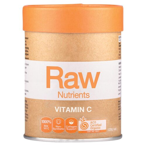 Raw Prebiotic Vitamin C 120g