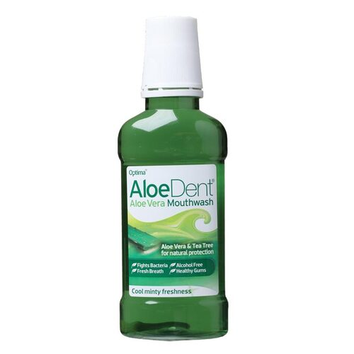 Aloe Vera & Tea Tree Mouthwash 250ml