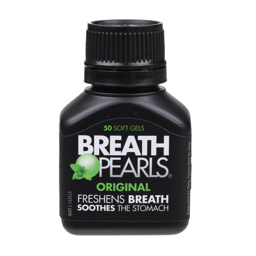 Breath Pearls Original Softgels x50