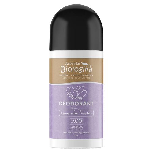 Lavender Organic Roll-on Deodorant 70ml