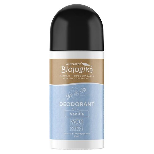 Vanilla Organic Roll-on Deodorant 70ml