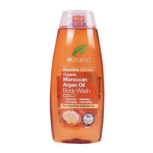 Organic Argan Oil Body Wash 250ml