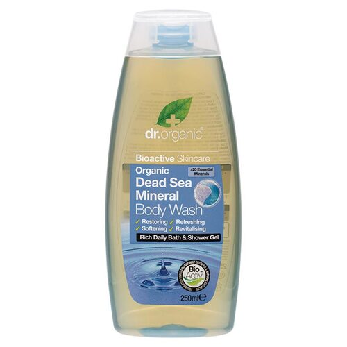 Organic Dead Sea Body Wash 250ml
