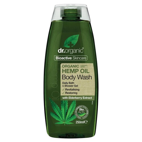 Organic Hemp Oil Body Wash 250ml