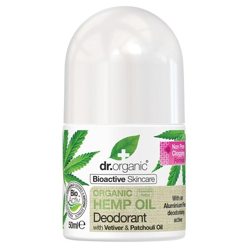 Organic Hemp Oil Roll-on Deodorant 50ml