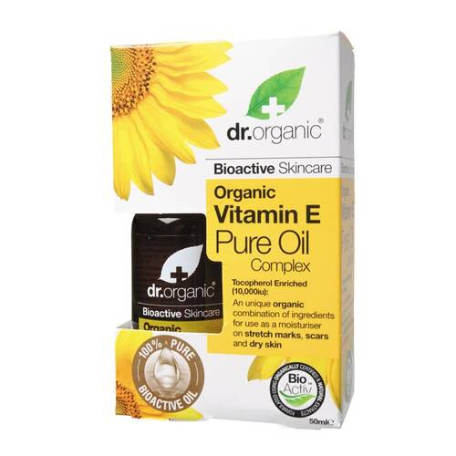 Organic Vitamin E Pure Oil 50ml