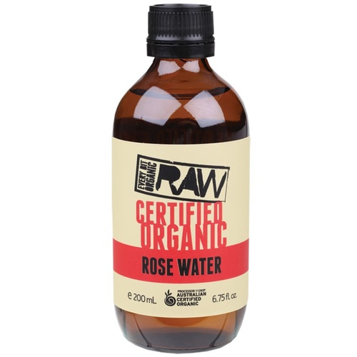 Organic Rose Water 200ml