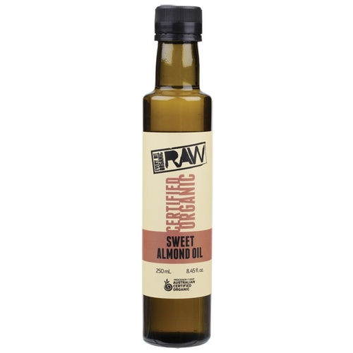 Organic Sweet Almond Oil 250ml