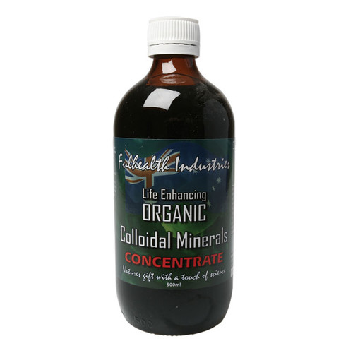 Organic Colloidal Minerals Concentrate 500ml